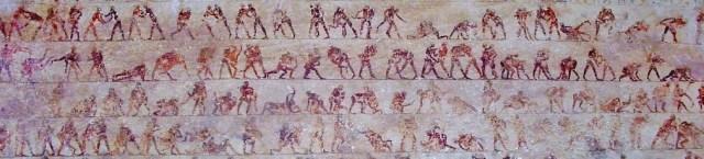 ancient wrestling