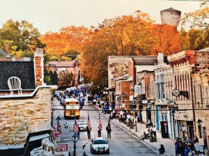 Photo Postcard of High Street Homecoming by Leah Crubel
