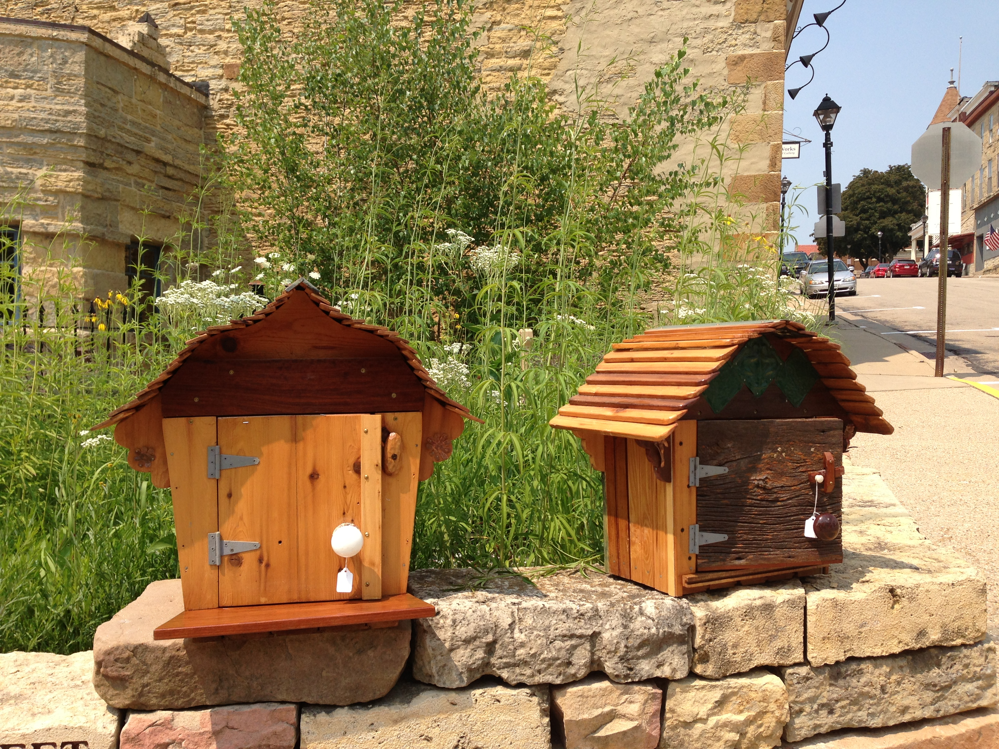 Little Free Walk of Little Free Libraries